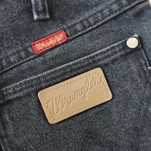 Wrangler Shorts - Vintage Wrangler Black High Rise Shorts
